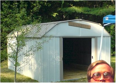Bubbles' Shed Project.